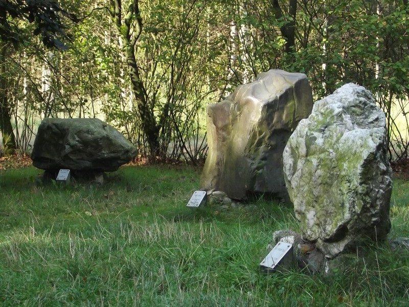 3 van de 8 Stenen der Zaligheden