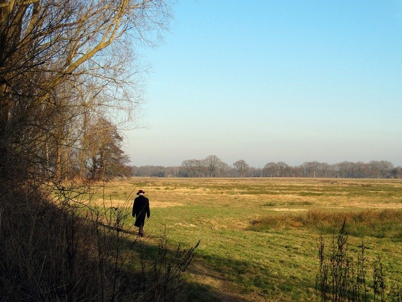 Wandelen in het natuurgebied bij Onstwedde
