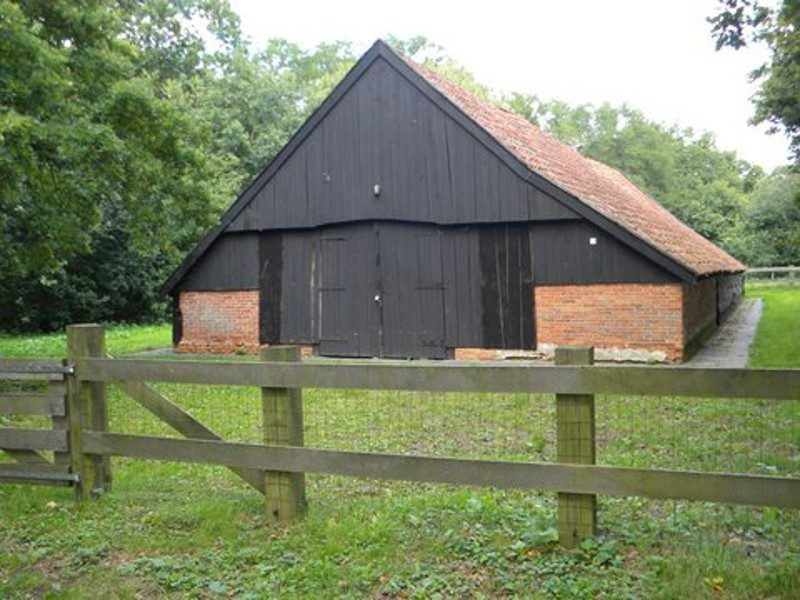 De schaapskooi uit de 17de eeuw