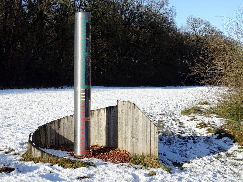 De grondwaterpeilmeter bij de Noordmee