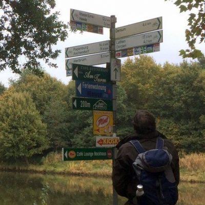 Wandelroute Drei Gaststätten Emstal Tour, te Heede