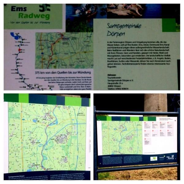 Informatie over de Emsradweg