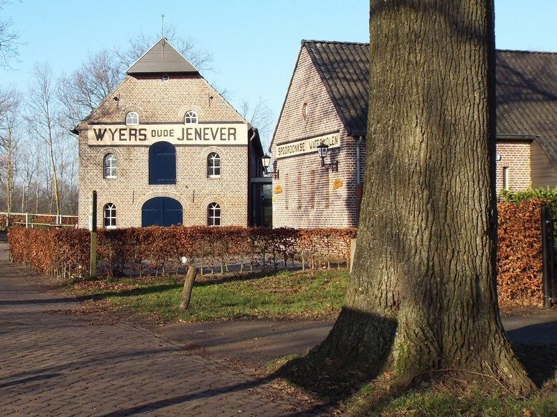 Weyers oude Jenever, watermolen