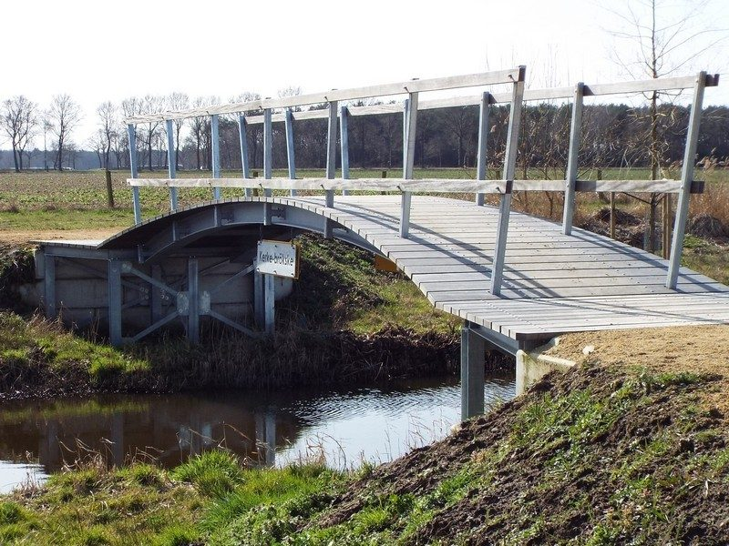 Nieuw brugje het Kerke Brökske