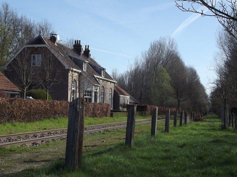 Voormalig stationsgebouwtje langs het Duits Lijntje