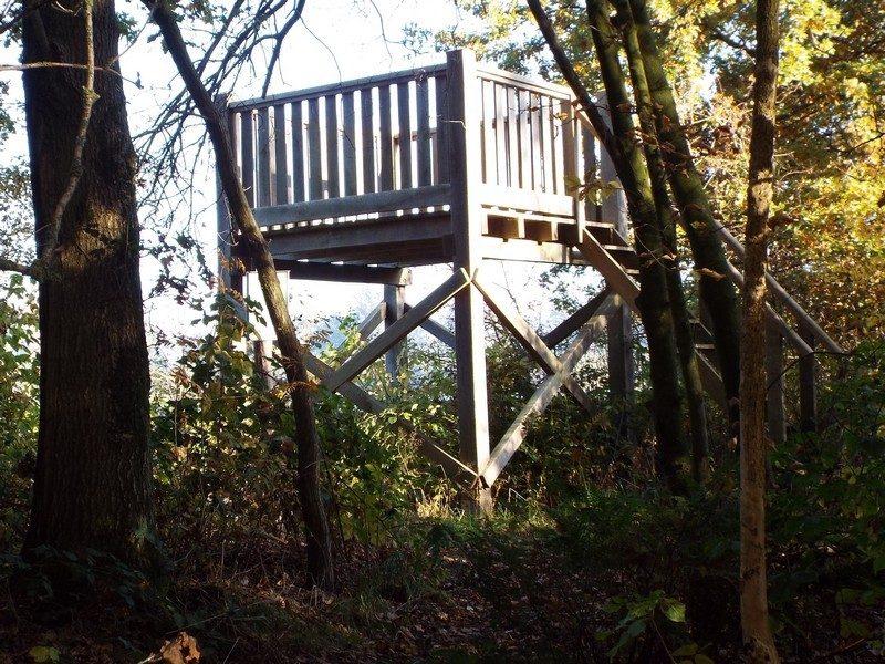 Uitkijktoren bij het Sarsven
