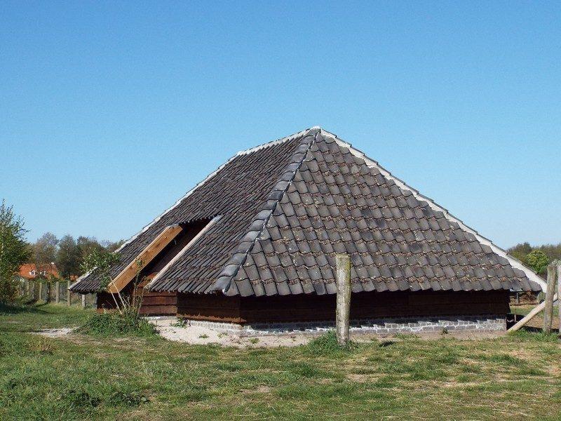 Schaapskooi in natuurparel Philomenahoeve