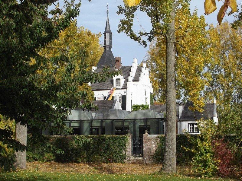 De andere zijde van kasteel Groot Buggenum