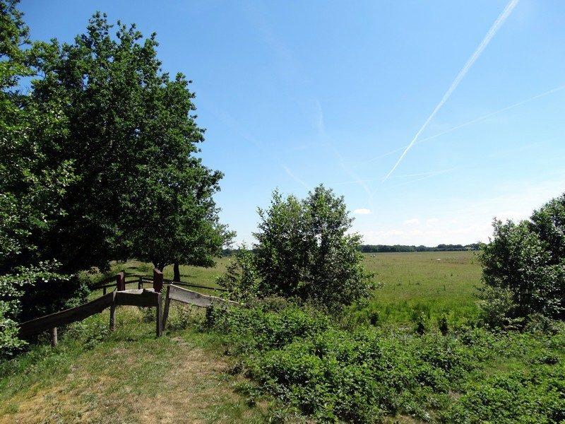 Bourtange, het gebied van het Groninger Landschap
