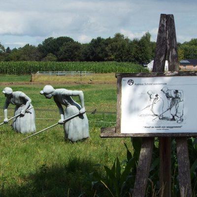 Wandelroute Hertgang-de kleine tocht, te Esbeek