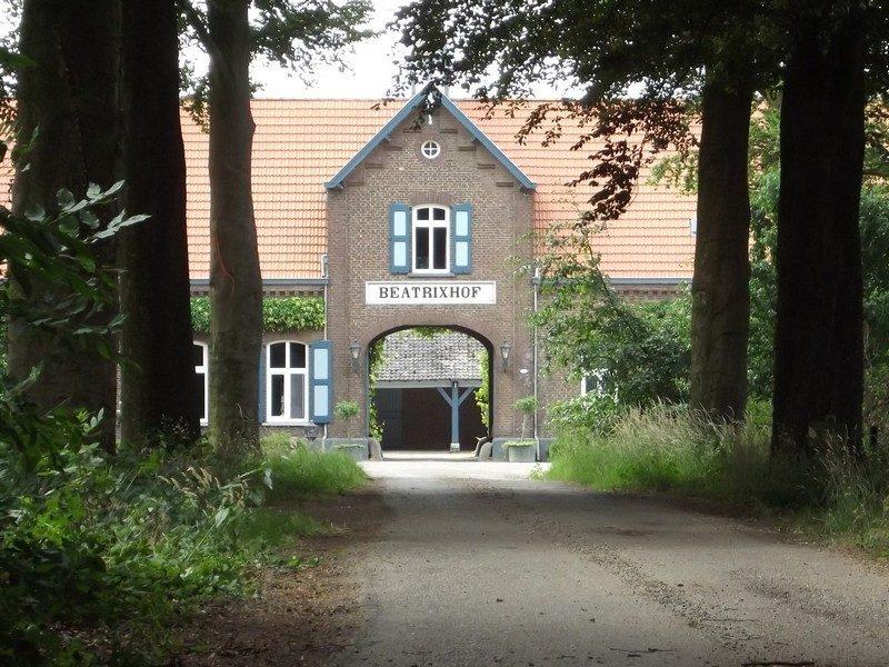 Boerderij op het landgoed Beatrixhof