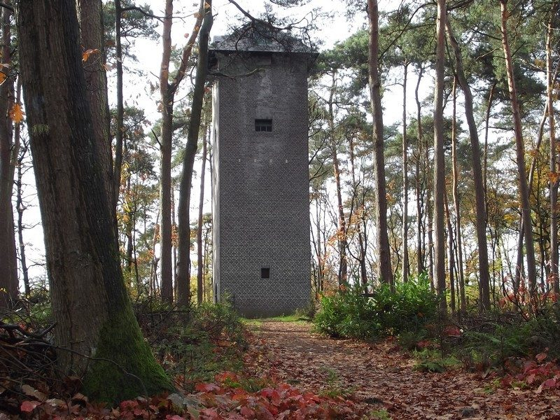 Uilentoren in het landgoed de Bedelaar