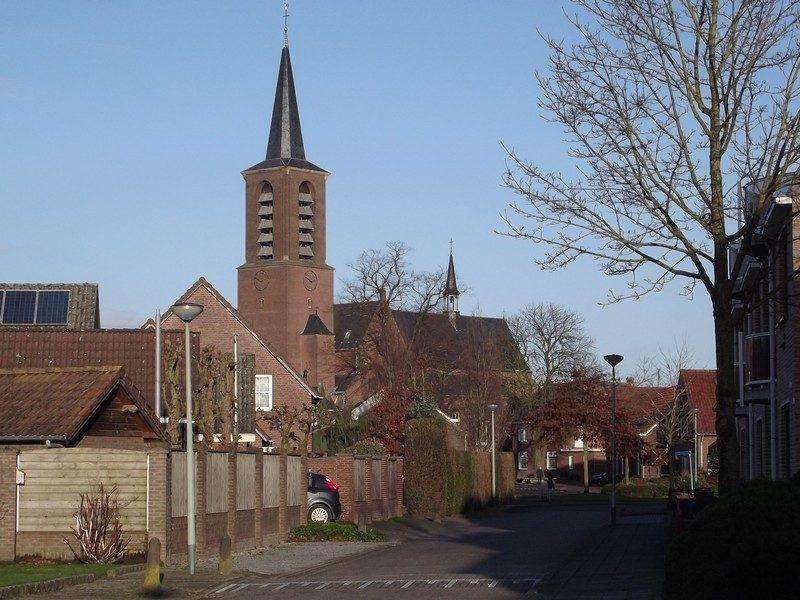 Dorpsgezicht met H. Lambertus Kerk