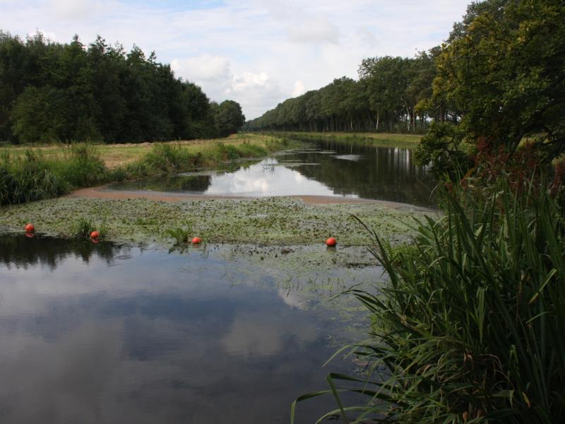 Het Ruiten Aa-kanaal bij Zuidveld, Sellingen