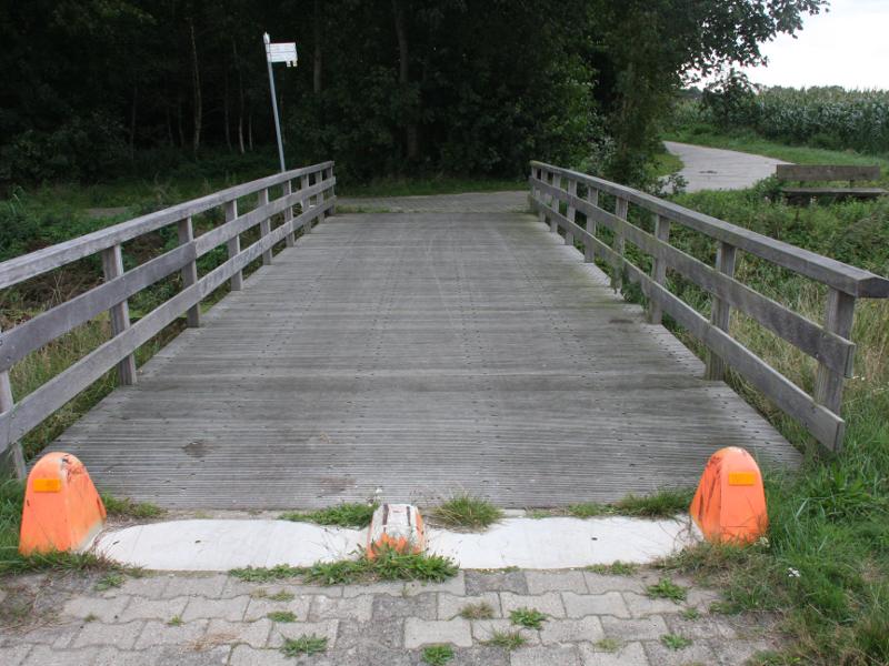 Grensbrug bij Wessingtange