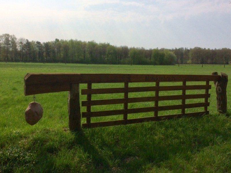 Een bijzonder hek