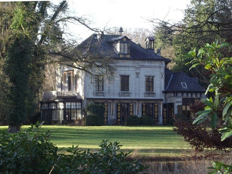 Landhuis in het landgoed Eikenhorst