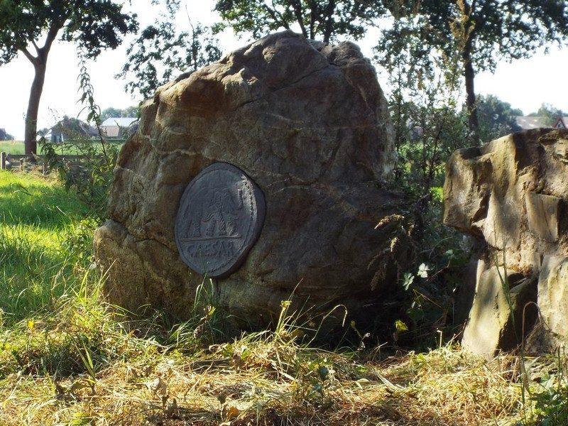 Voorbeeld van munt Romeinse muntschat