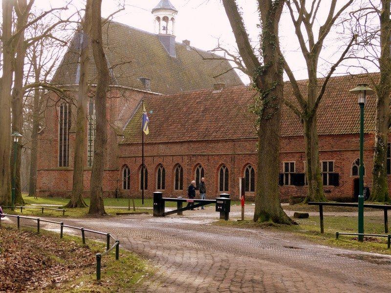 De ingang van het Kloostermuseum