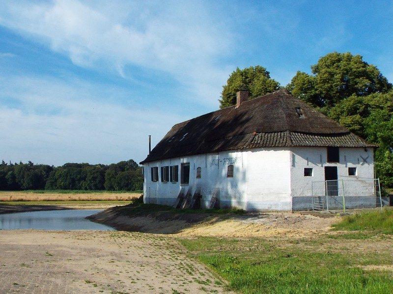 De in 1850 gebouwde boerderij Out-Herlaer