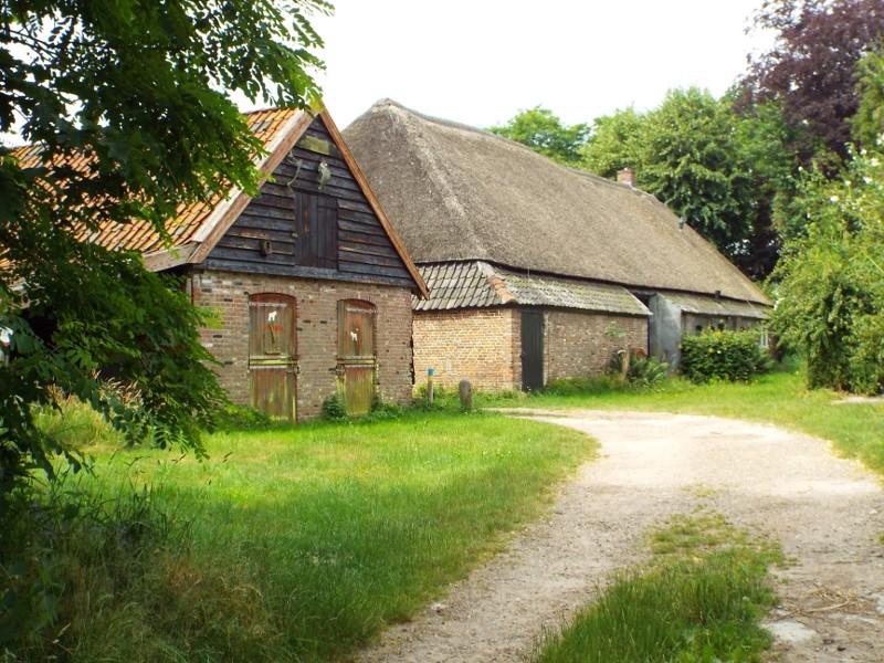Boerderij in het landgoed Sterrenbosch