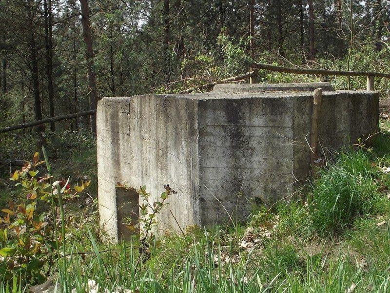 Ringstand Typ 58c, onderdeel van Westwalls verdedigingslinie 1944/45
