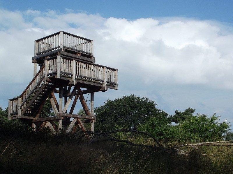Uitkijktoren op De Meinweg