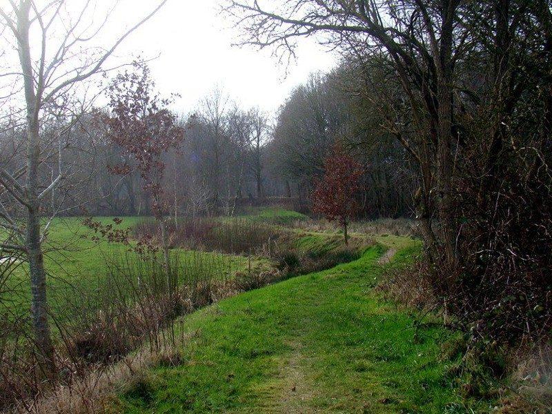 Een pad langs de Redoute