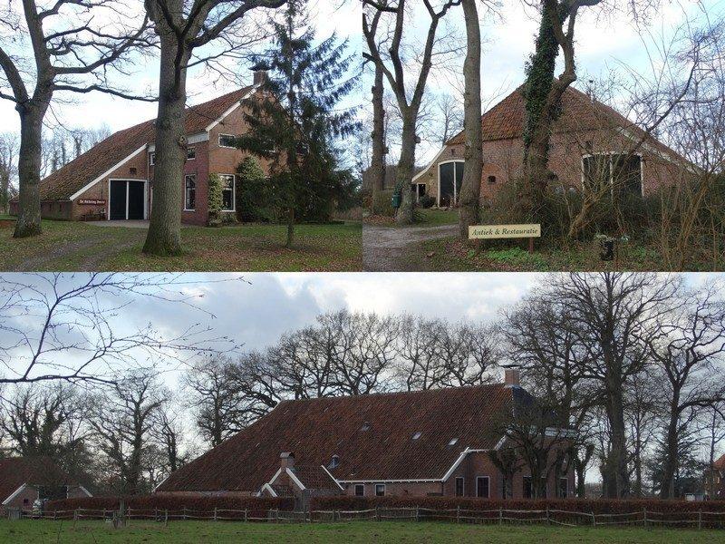 Monumentale boerderijen in Smeerling.