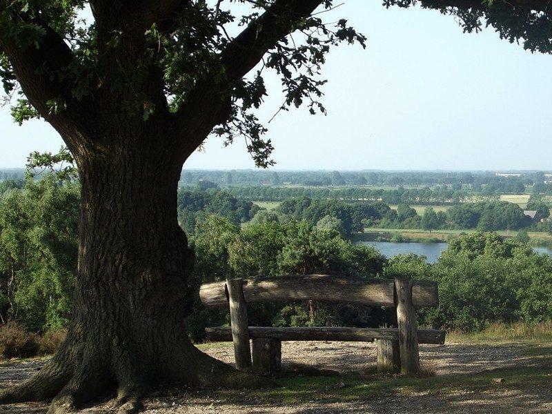 Uitzichtpunt over het land van Cuijk