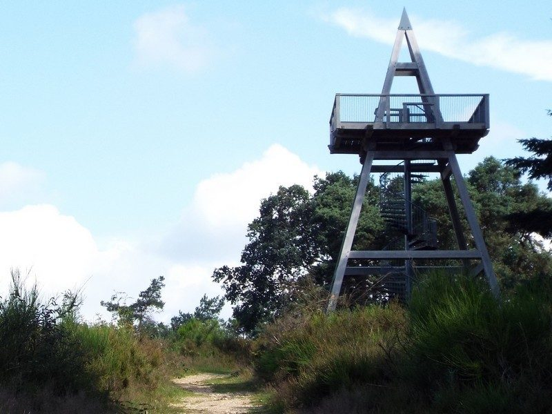 Uitkijktoren bij Mookerschans