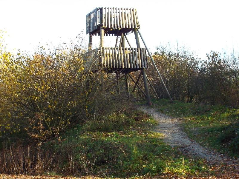 Uitkijktoren in de Bedafse Bergen
