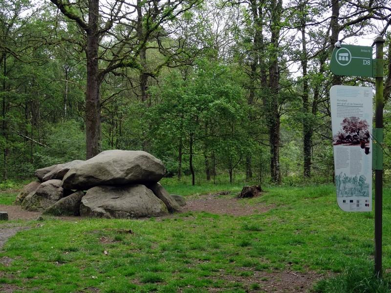 Een hunebed in het Kniphorstbos.