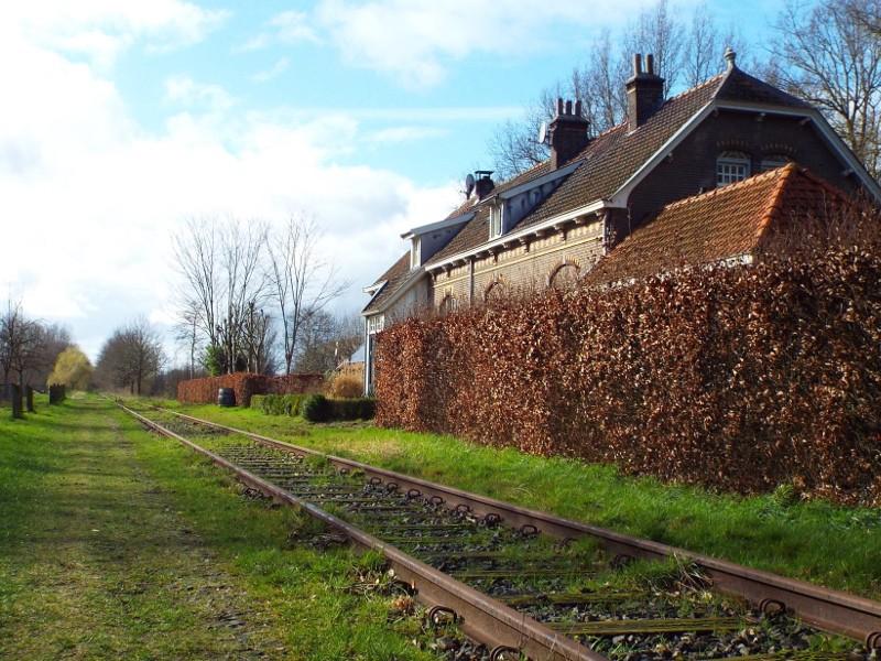 Voormalige station Liempde nu een woonhuis