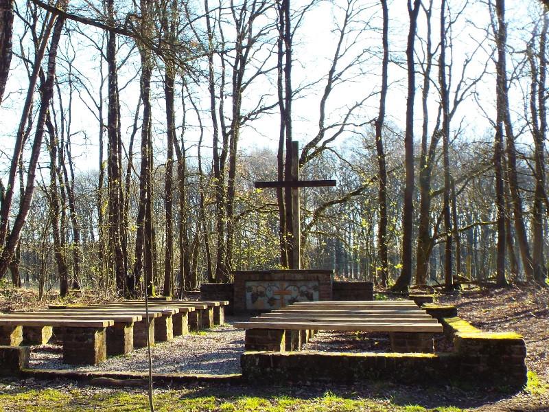 Het grenskerk monument