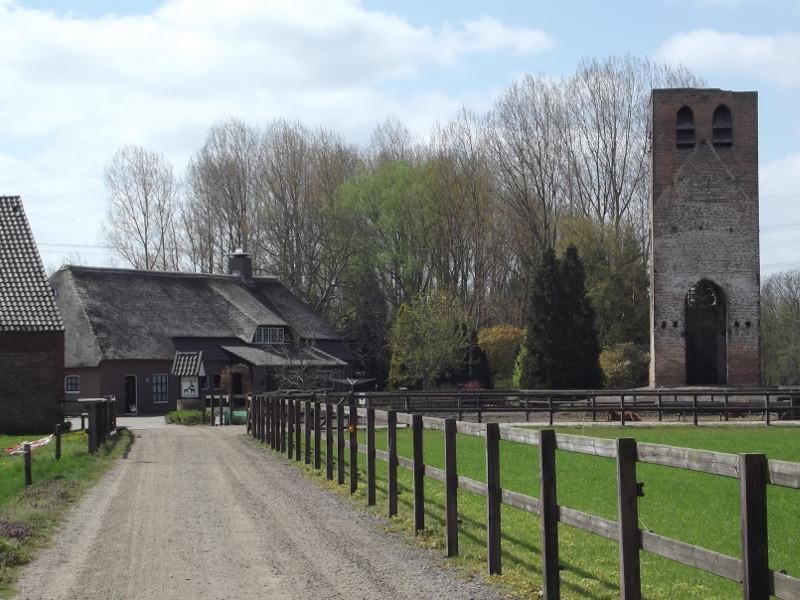 De Oude Toren, het restant 15e-eeuwse parochiekerk