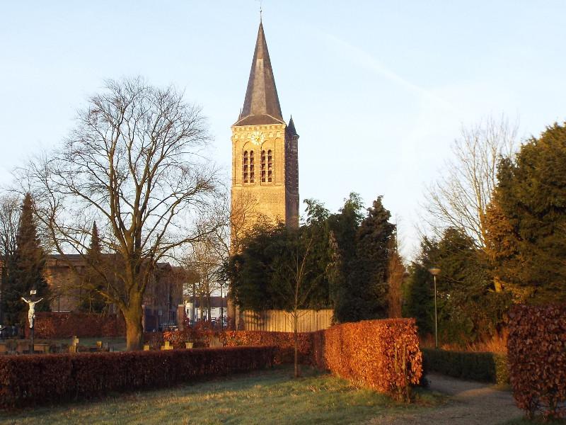 Toren van de in 1966 gesloopte Sint-Petrus'-Banden kerk
