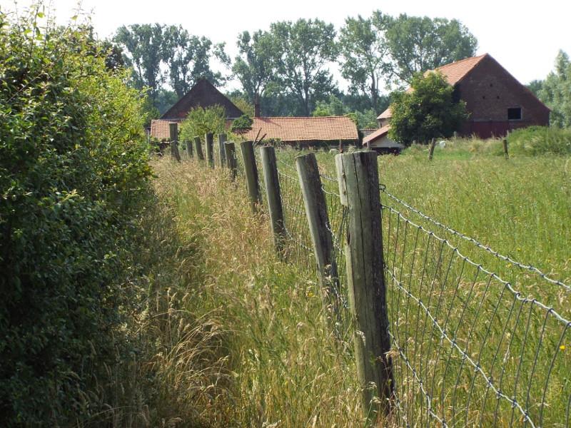 Pad naar boerderij Heijerhof