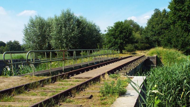 Duits Lijntje, spoorbrug