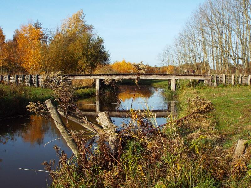 Nagebouwde Romeinse brug