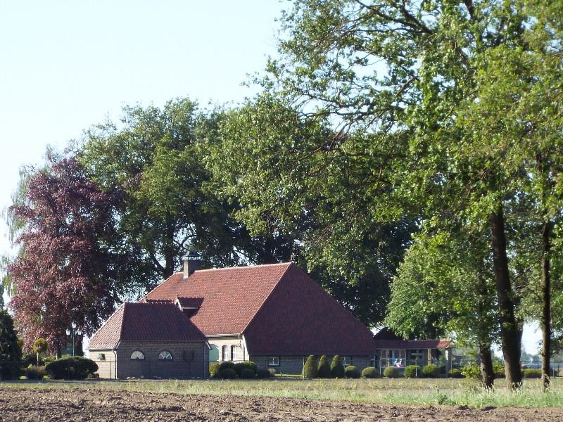 Een van de vele boerderij