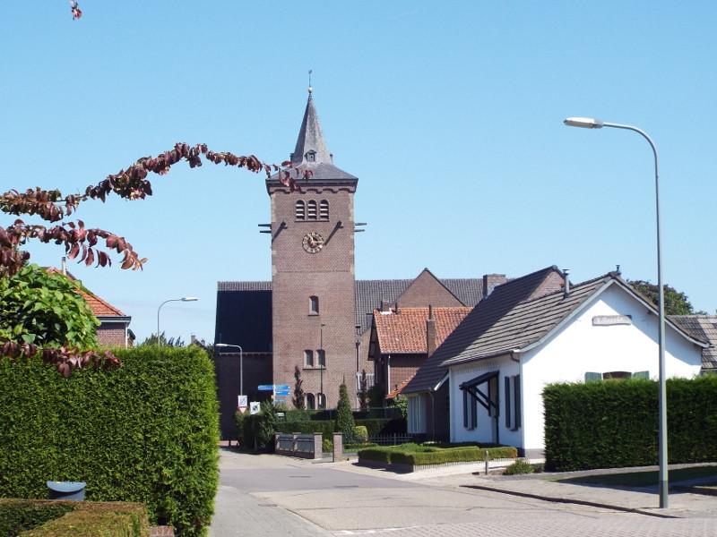 De kerk in Leveroy