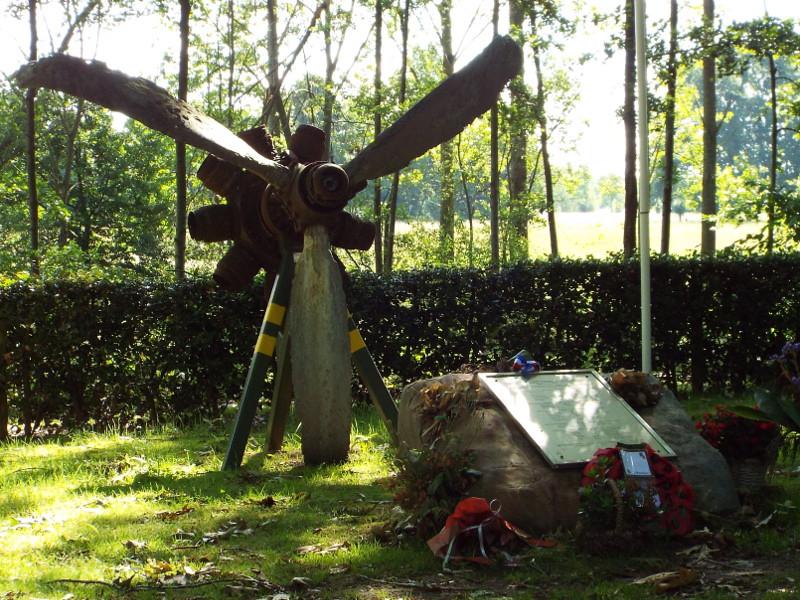 Monument ter nagedachtenis aan WOII oorlogsslachtoffers