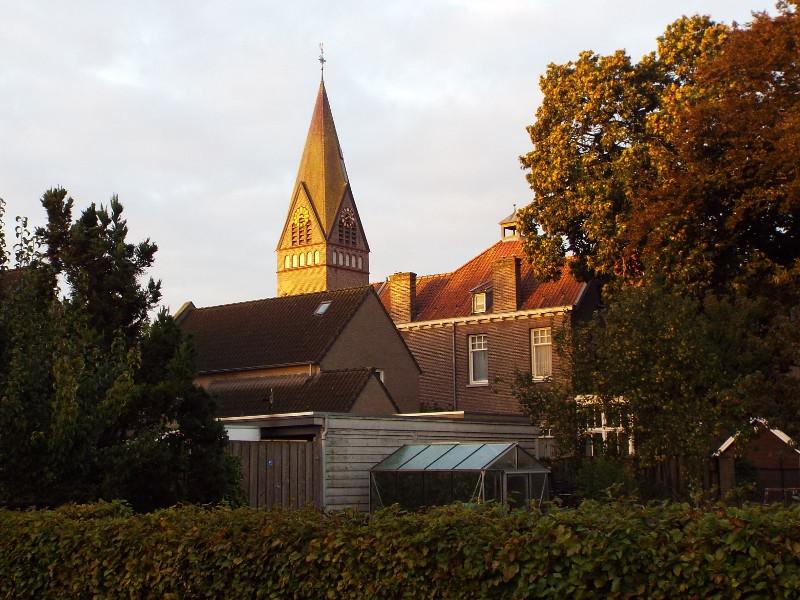 De kerk in Keldonk