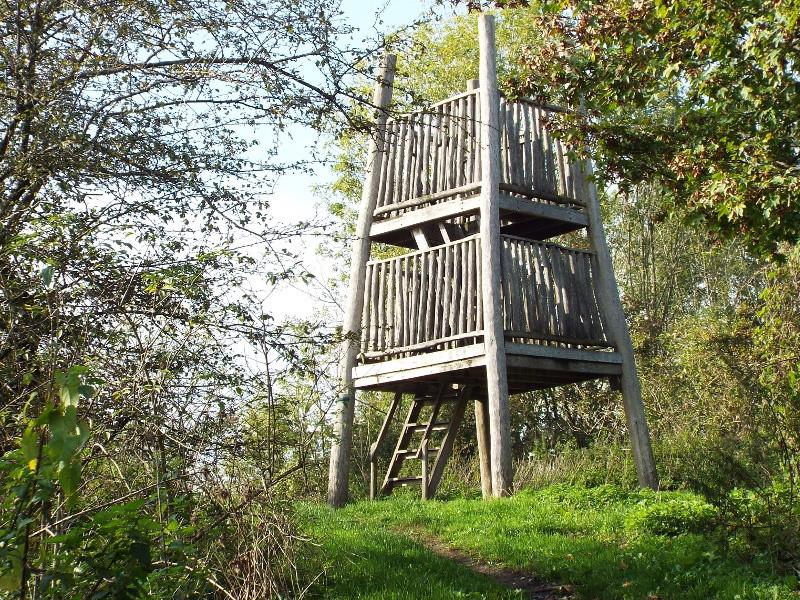 Uitkijktoren in het Keelgras