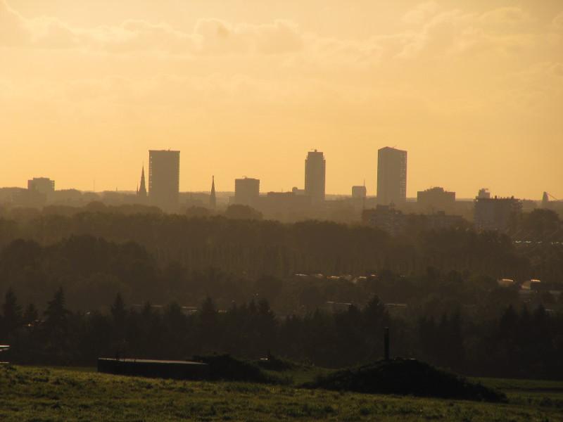Skyline van Eindhoven