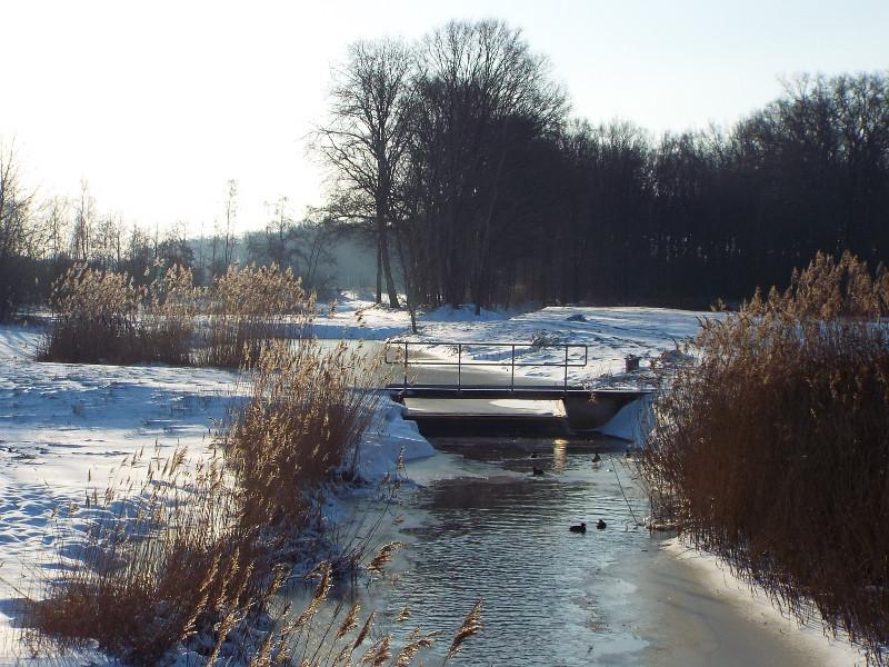 De Snelle Loop gezien vanuit een brugje