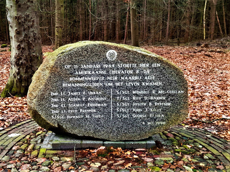 Ter nagedachtenis aan onze bevrijders