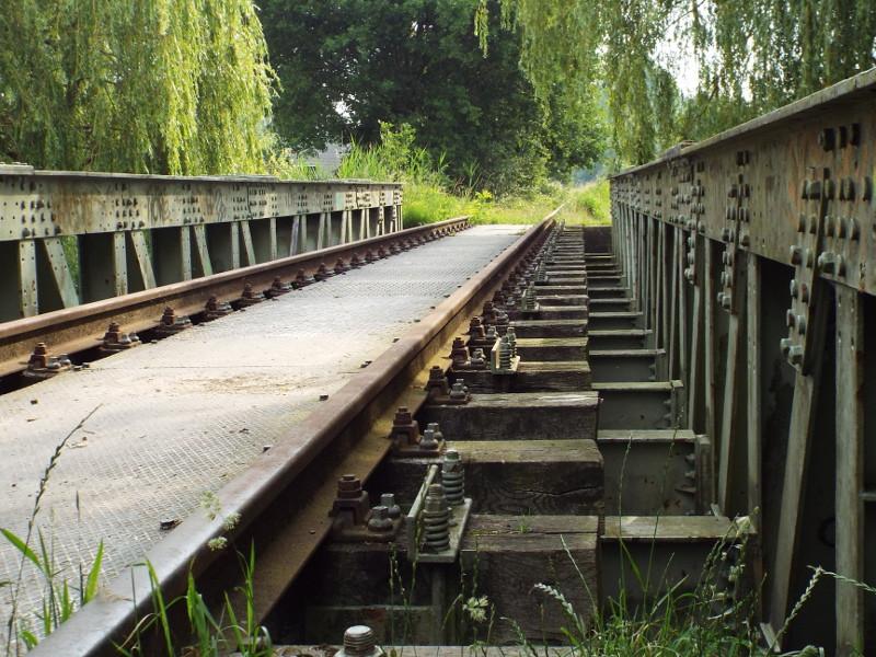 Voormalige Duits Lijntje, spoorbrug