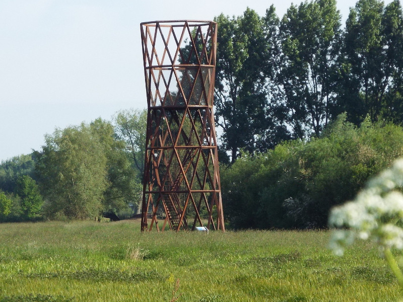Uitkijktoren Rond door Recht